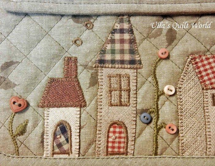 Лоскутное шитье, схема для сумки