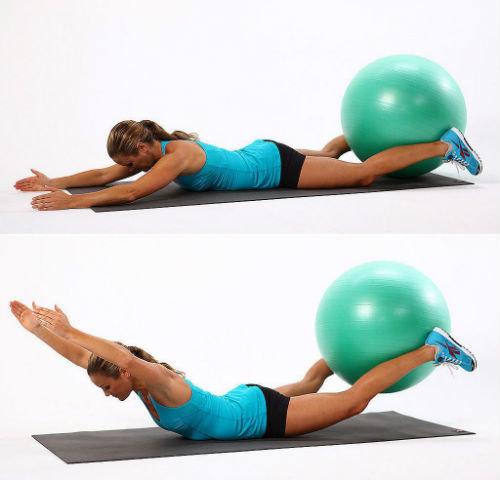 Лучший комплекс упражнений с мячом для фитнеса: фото, видео