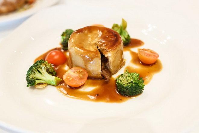 Мясной английский пудинг - фото рецепт кулинарного портала