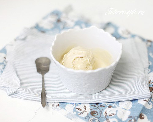 Мороженое крем-брюле домашнее