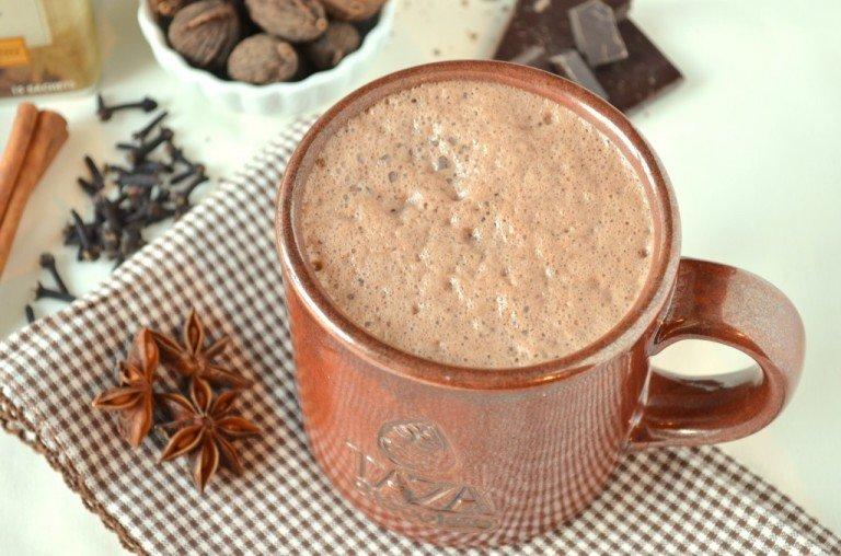 Натуральное какао со специями