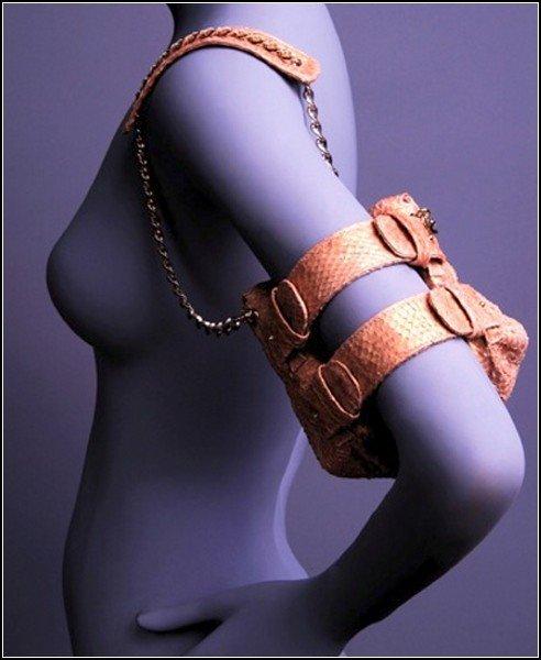 Сумки-украшения Dancing Bags из рыбьей кожи
