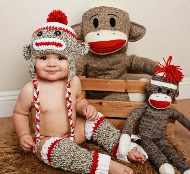 обезьянка из носков своими руками