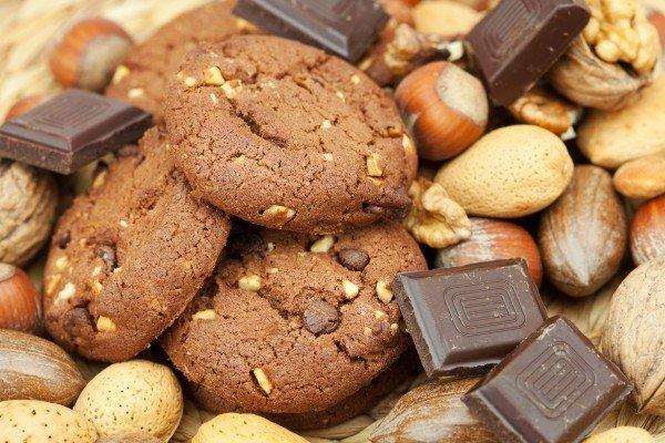 Овсяное печенье Шоколадное