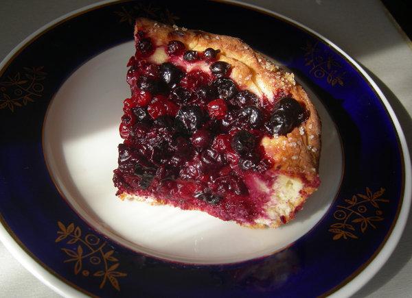 Пирог со смородиной — рецепт с пошаговыми фотографиями на Foodclub.ru