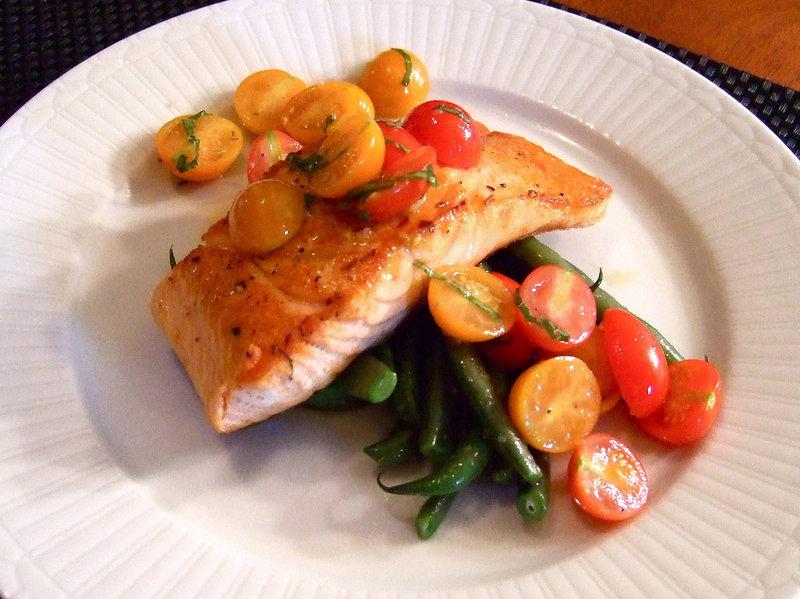 Правильное питание. Рыба+овощи