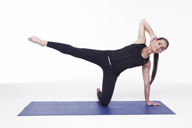 Простая гимнастика в стиле пилатес • Зожник