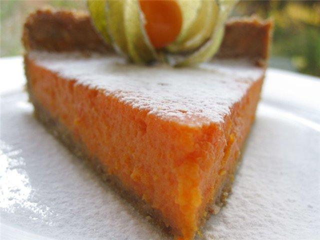 рецепты тортов с тыквой