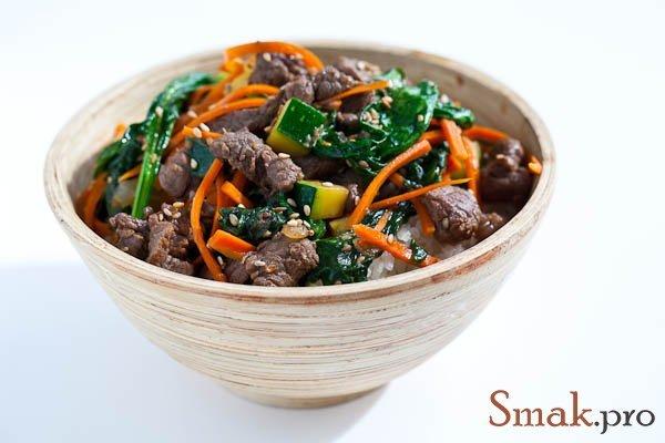 Сочная говядина по корейски рецепт с фото