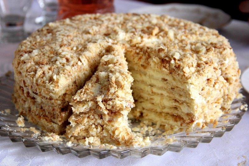 Торт «Наполеон» | Кулинарный портал «Express-Buro»