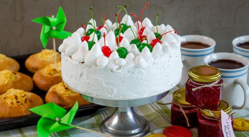 Торт со взбитыми сливками приготовить