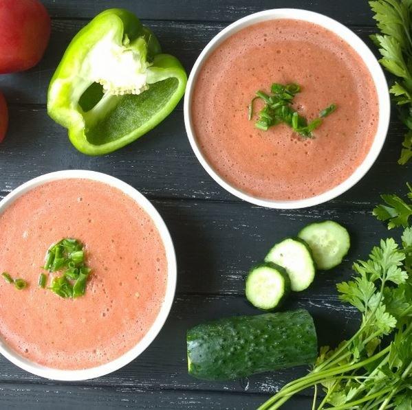 Vegan Yummy Yummy: Simple Gazpacho