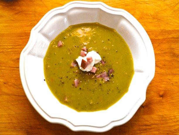 Восточный гороховый суп