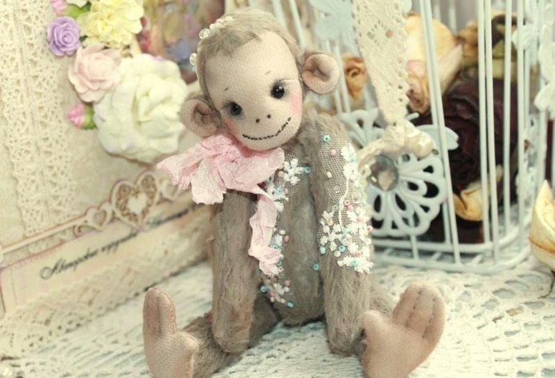 выкройка игрушки тильда обезьянка