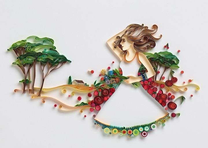 Yulia Brodskaya - a paper art