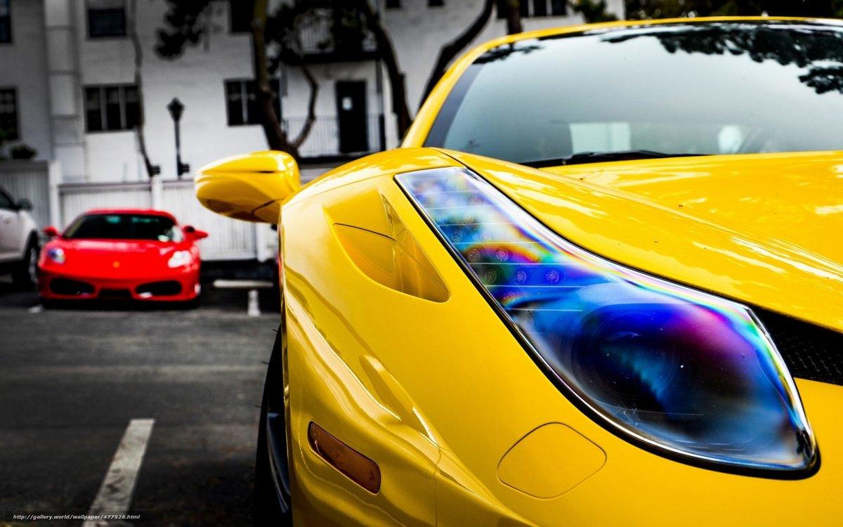 красочные фото машин представить