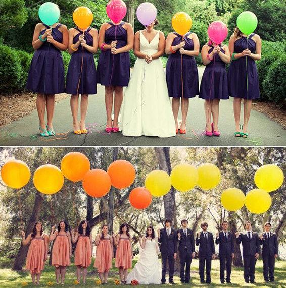 Оформление воздушными шарами: свадебные идеи - Cosmopolitan Bride