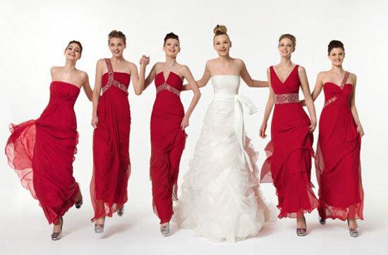 Платья подружек невесты фото 5