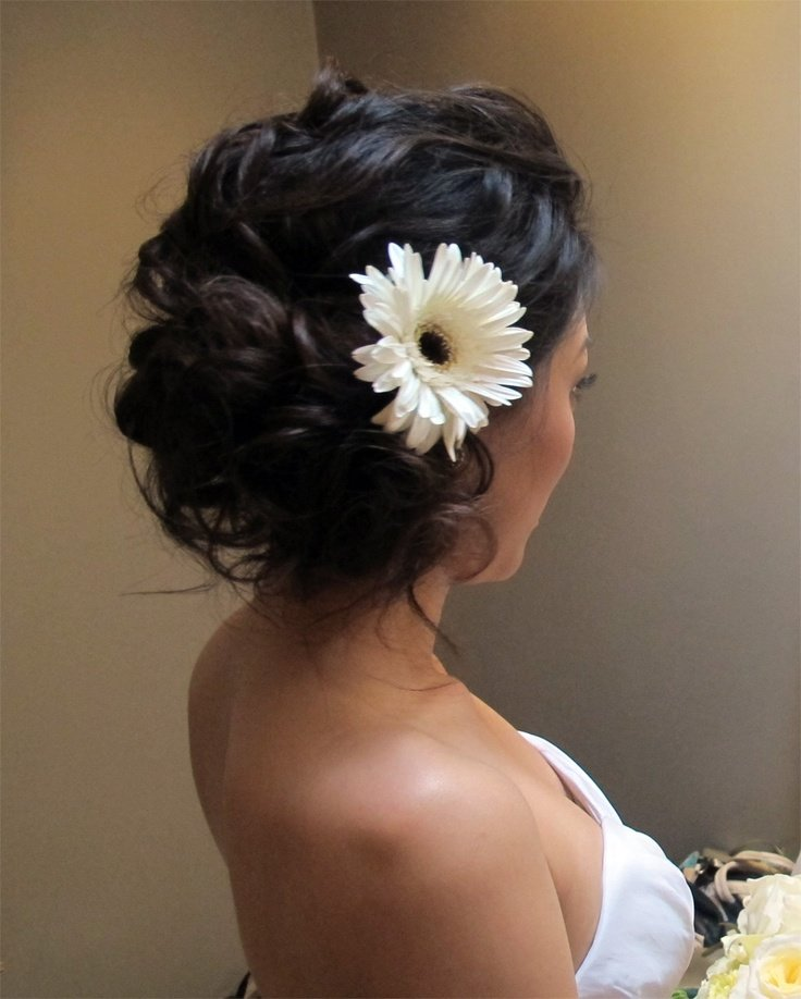 свадебная прическа для длинных волос фото 22