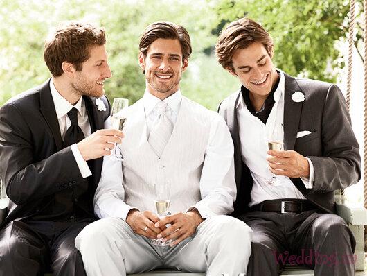 свадебные наряды дружков жениха