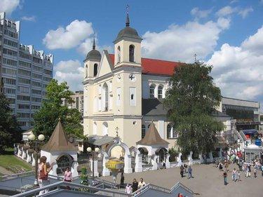 минск церковь на немиге