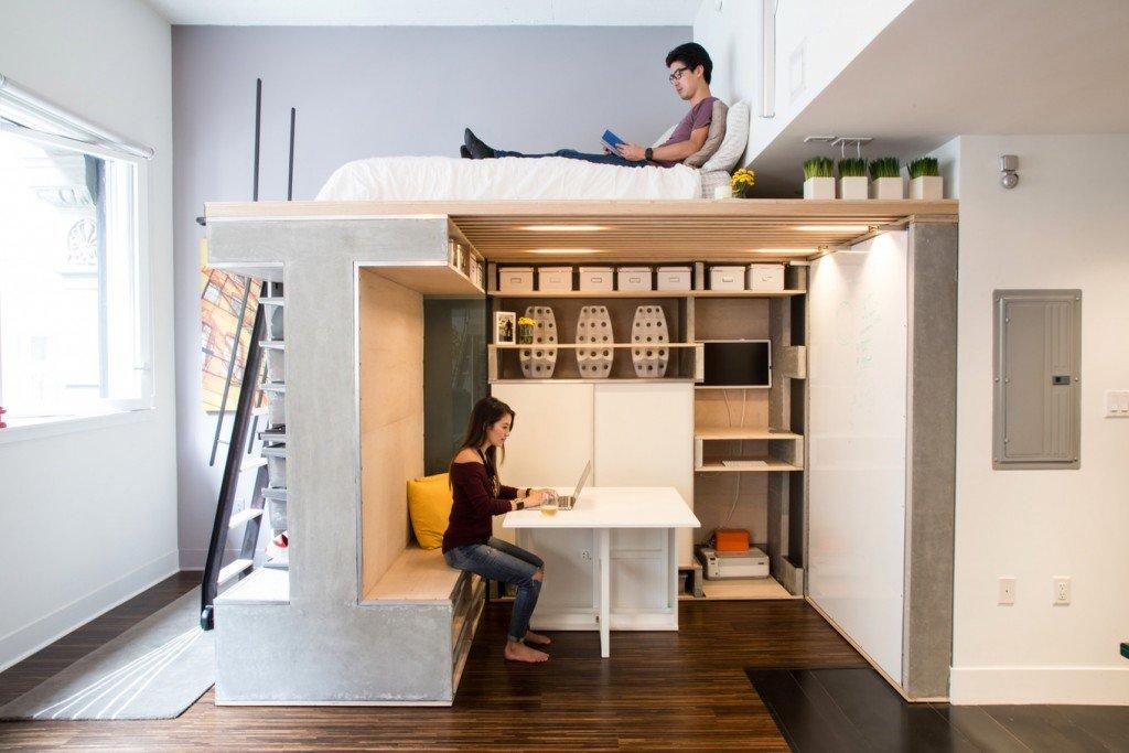 места хранения под потолком
