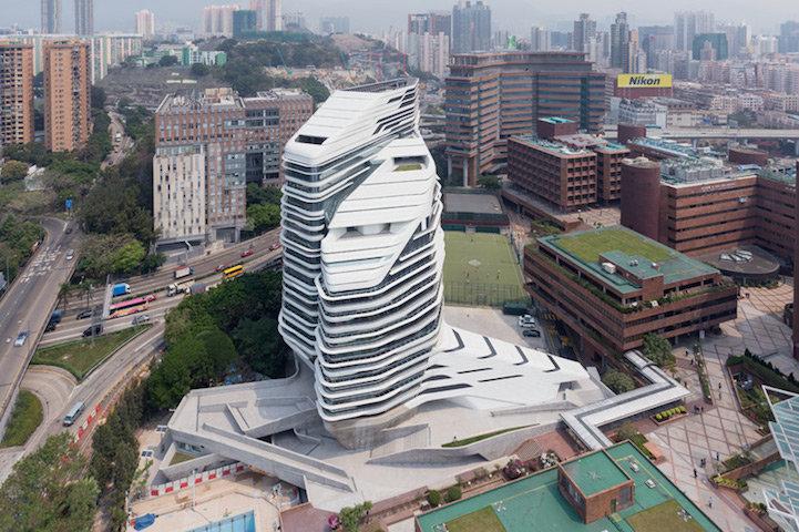 Jockey Club Innovation Tower в Гонконге