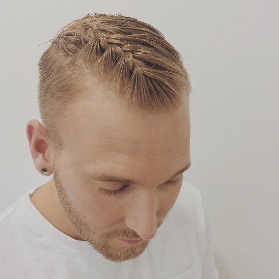 Мужские косы: новый тренд