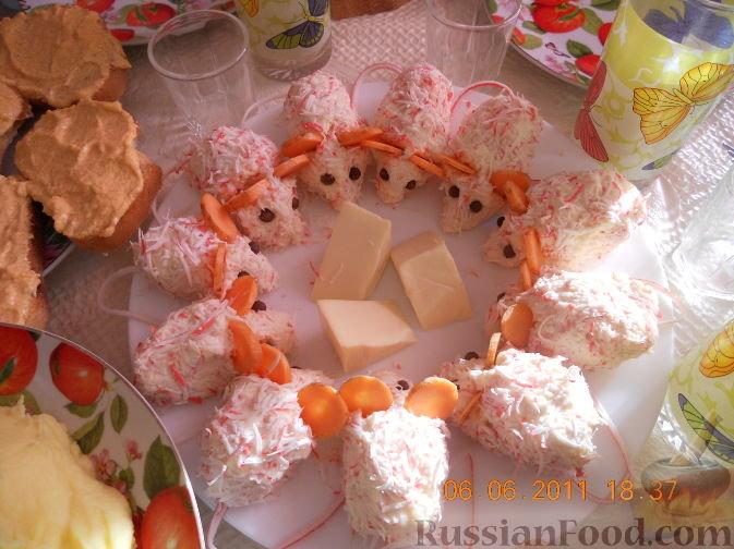 Красивые закуски фото на день рождения мышки