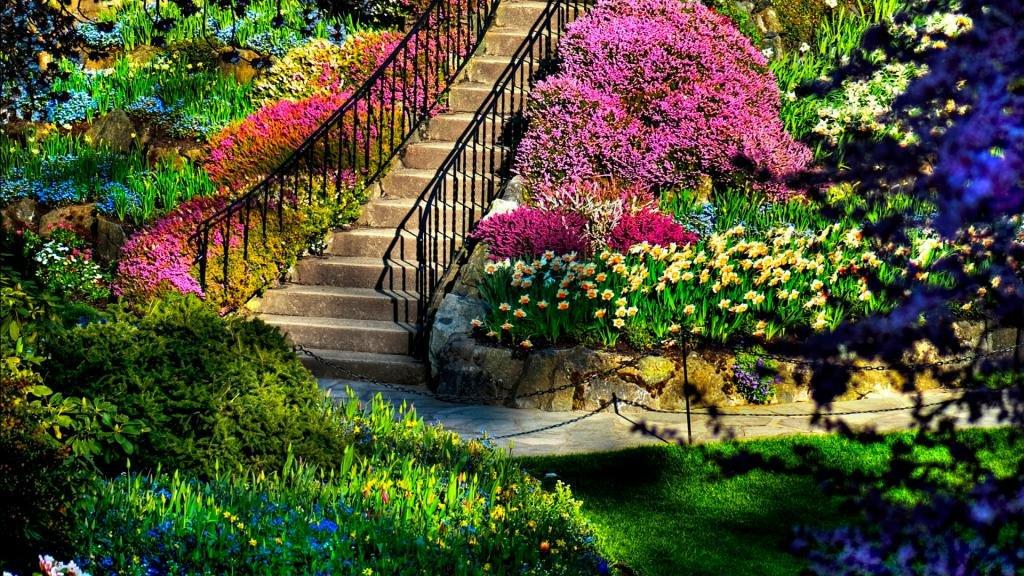 Картинку, картинки красивые цветочные сады