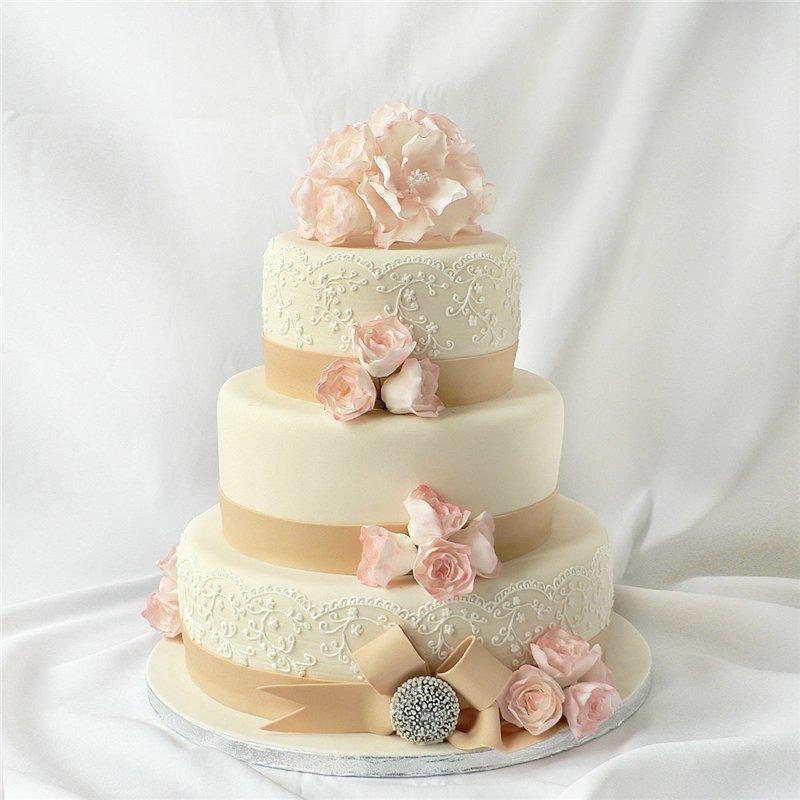 Рецепт свадебный пирог
