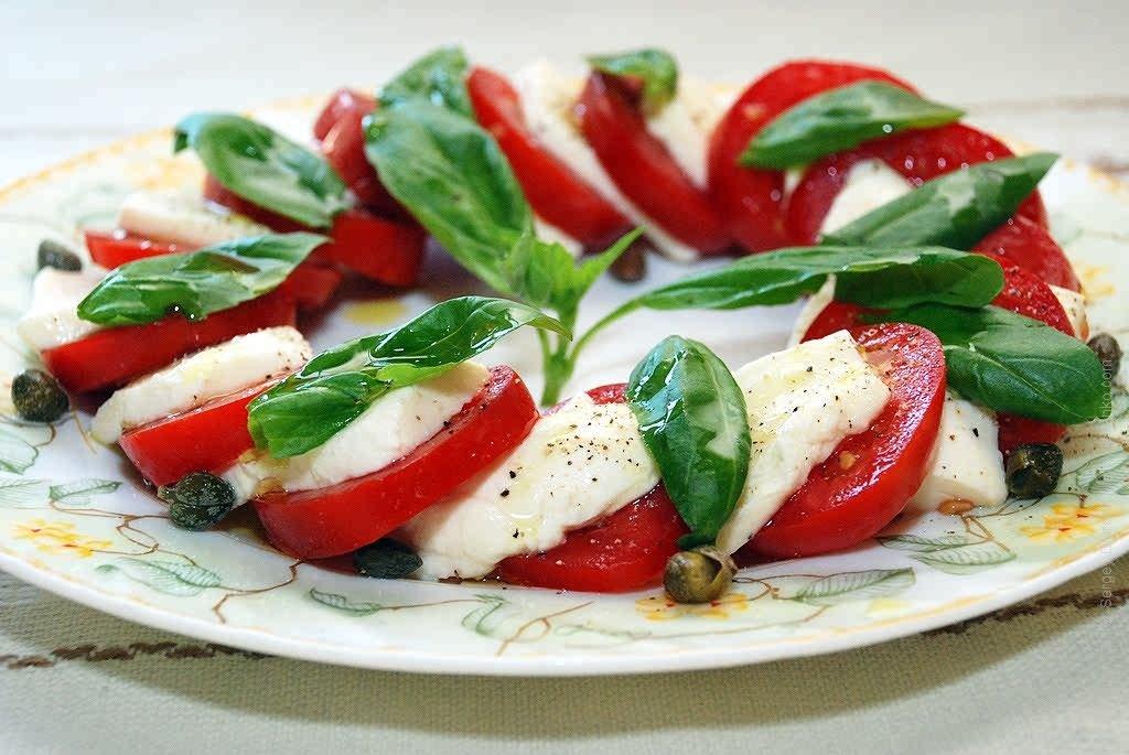 Итальянские салаты и закуски рецепты с фото