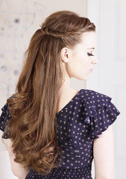 Причёски нежные