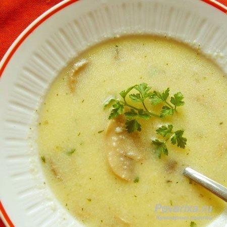 Рыбный суп-пюре - рецепт супа-пюре из рыбы.