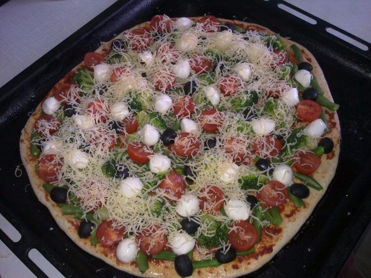 Топ5 рецептов вегетарианской пиццы с фото