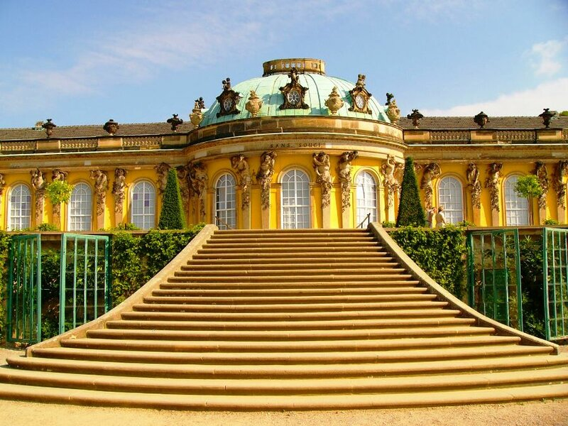 Дворец Сан-Суси (Потсдам, Германия)