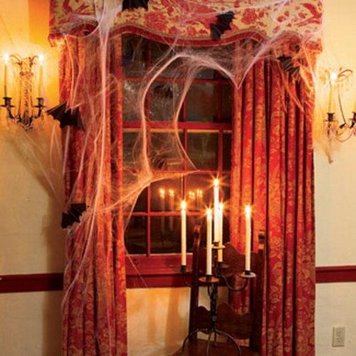 Хэллоуинский интерьер