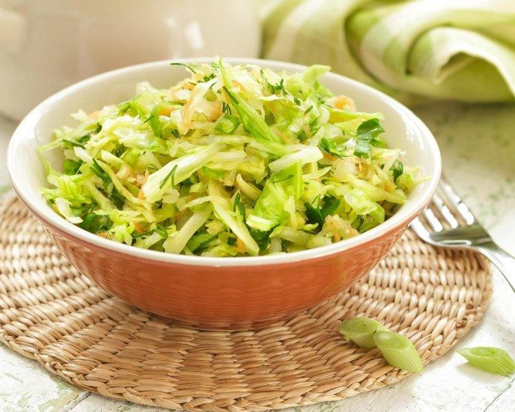 салат из капусты с огурцами свежими