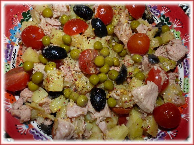 Рецепт салатов без майонеза с фото