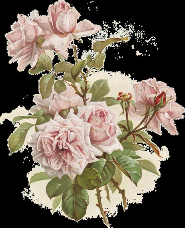 Картинки для декупажа с розами