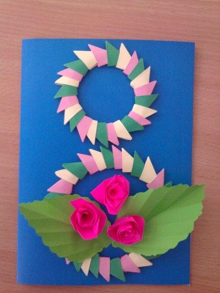Картинки вытынанки, открытки для мам 8 марта подготовительная группа