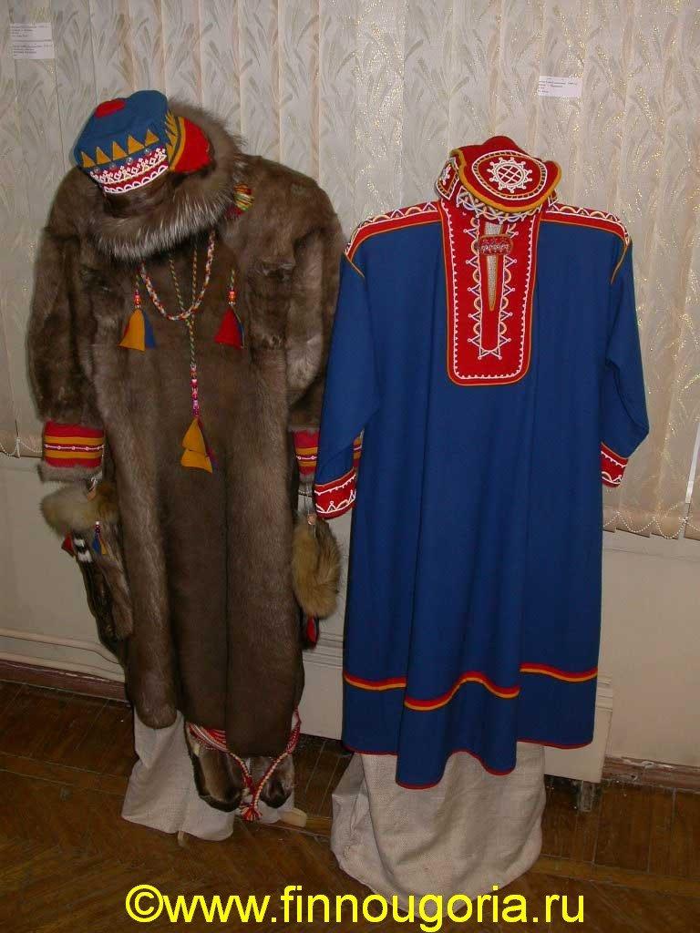 это картинки костюмы саамов часть