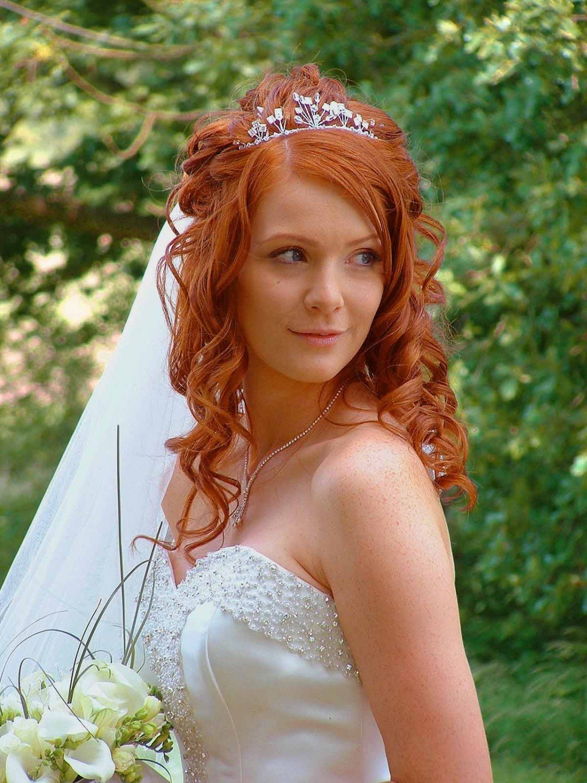 Фото красивых рыжих невест #4