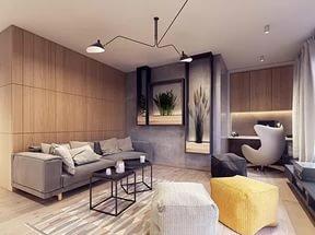 современный дизайн и ремонт квартир фото #10