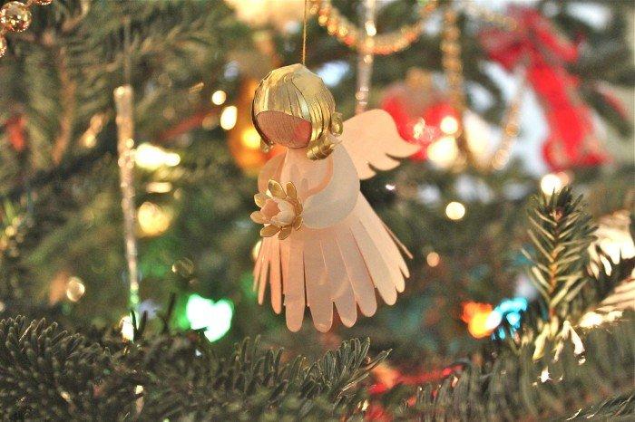 Ангелочек своими руками на ёлку 131
