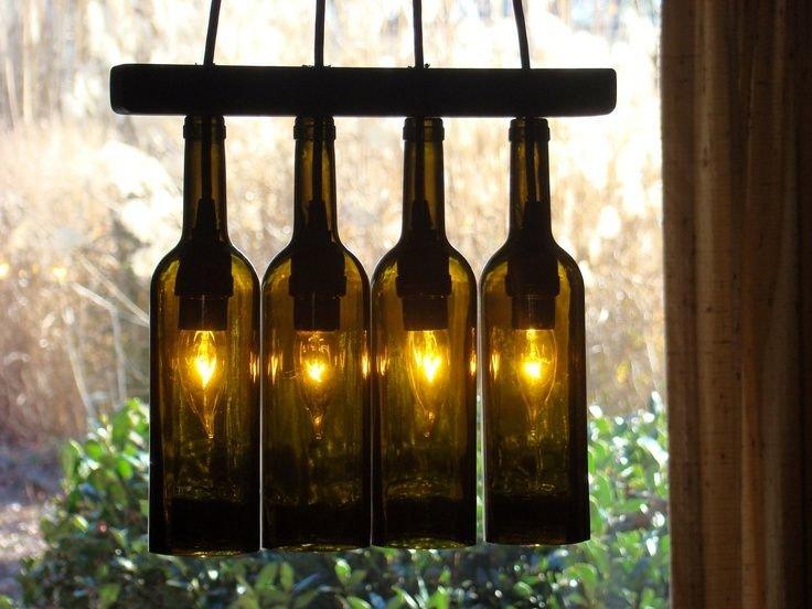 Картинки по запросу поделки для сада своими руками из стекляных бутылок