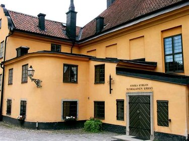 стокгольм финская церковь
