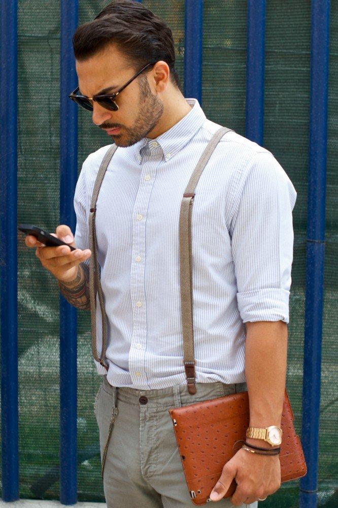 таких кистей рубашка с подтяжками мужские фото втором