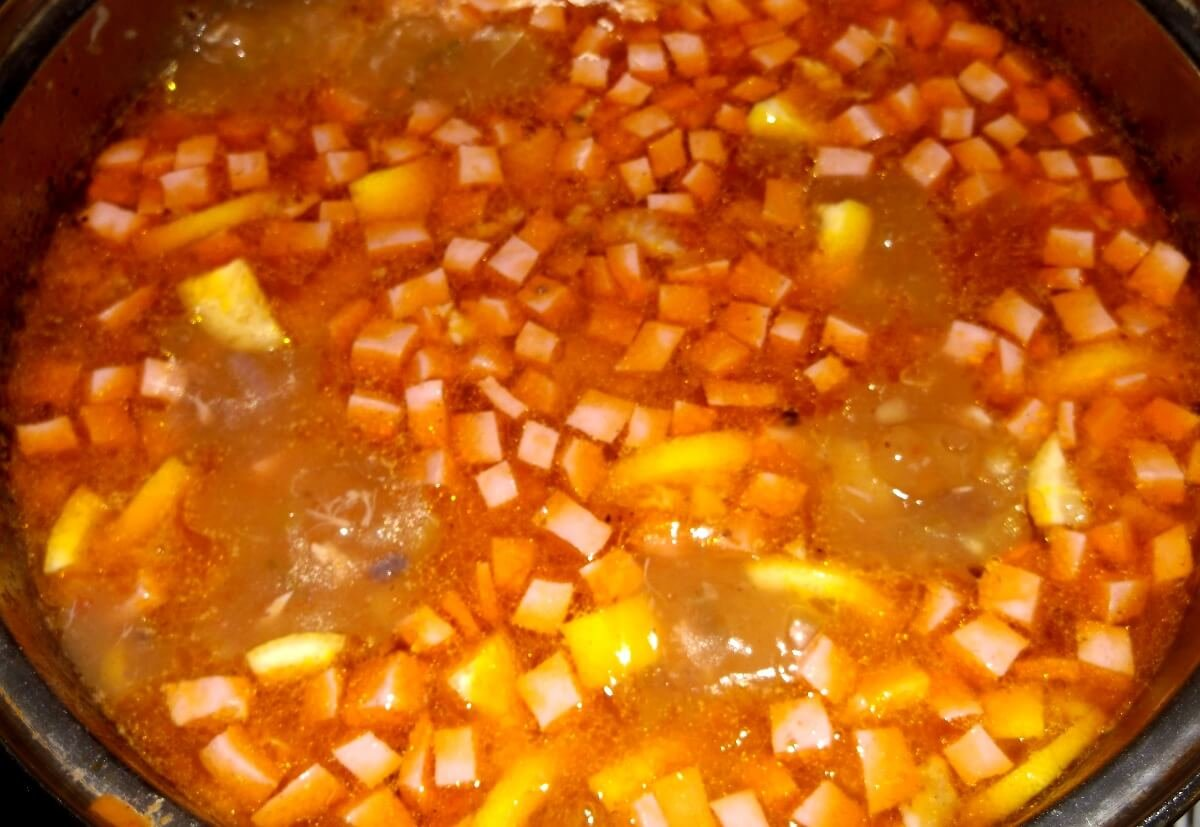 мясная солянка с картошкой рецепт с фото