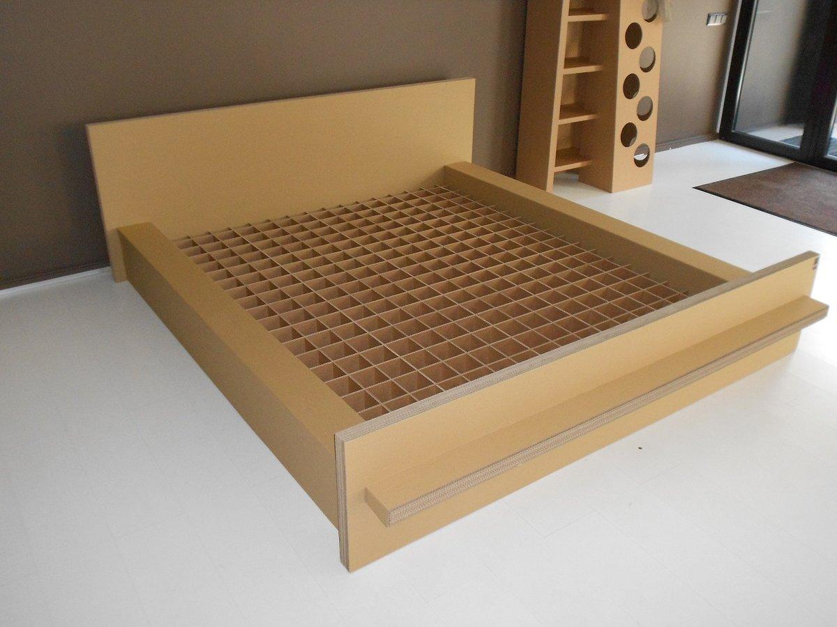 Картон кровать своими руками